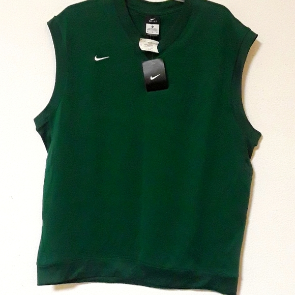 NEW NIKE DRI-FIT  MEN'S  GREEN ACTIVE TANK TOP XL